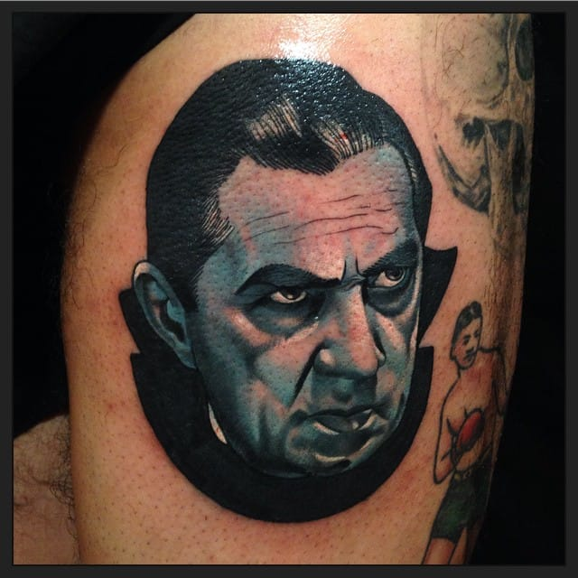 Count Dracula Tattoo by Josh Todaro