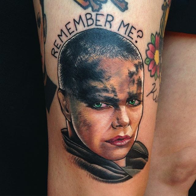 Furiosa Tattoo by Josh Todaro