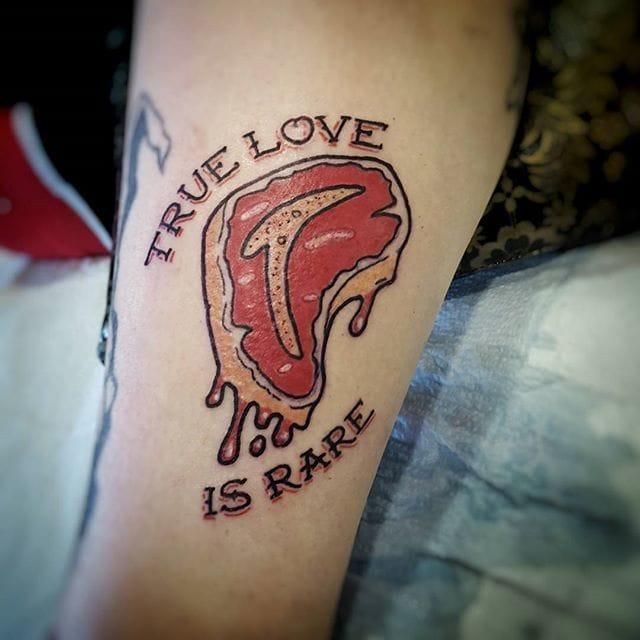 10 Steak Tattoos For Meat Loving Carnivores!