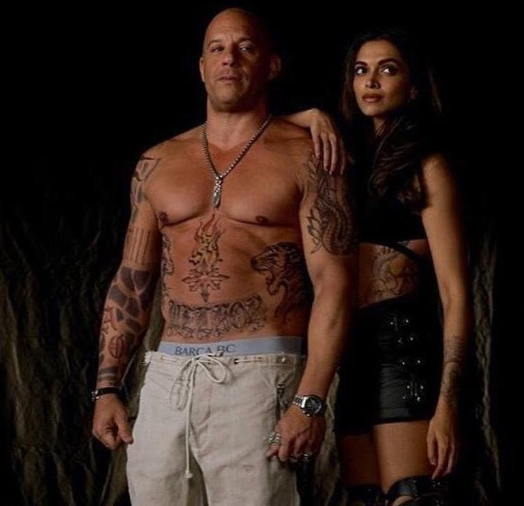 Vin Diesel Shows Off Tattooed Physique For The Upcoming xXx Movie!