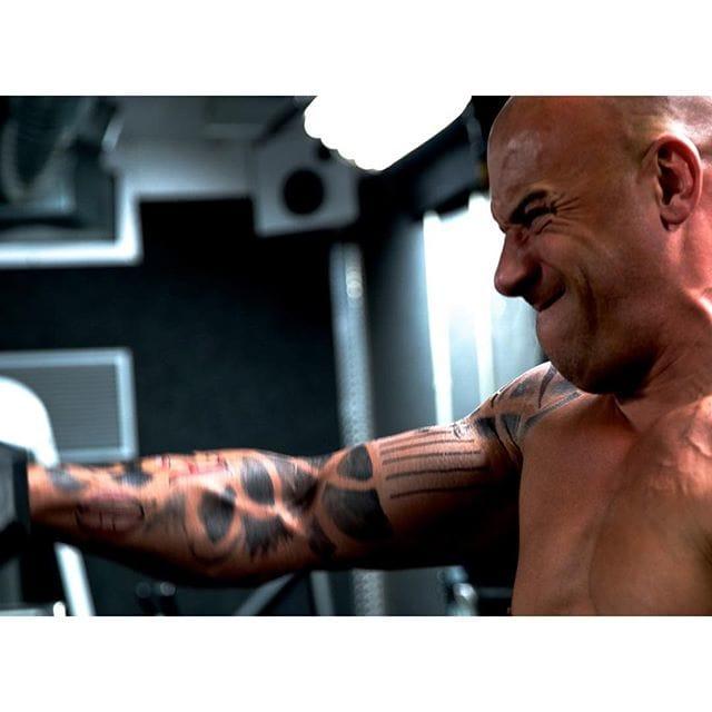 Vin Diesel Preparing For His Role!