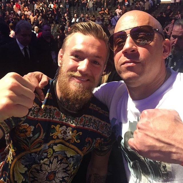 UFC Champion Conor McGregor Is Set To Star Along Side Vin Diesel!