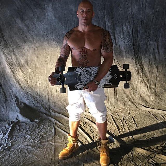 Vin Diesel Embracing His Inner xXx