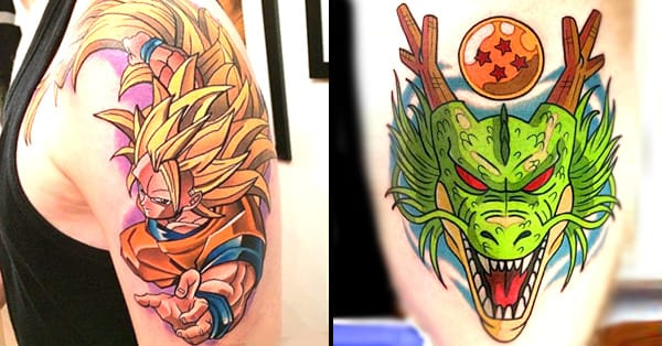 Dragon Ball Tattoo Forearm: 21 Full Force Dragon Ball Tattoos