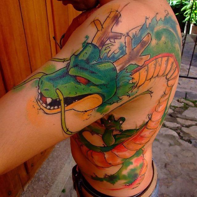21 Full Force Dragon Ball Tattoos