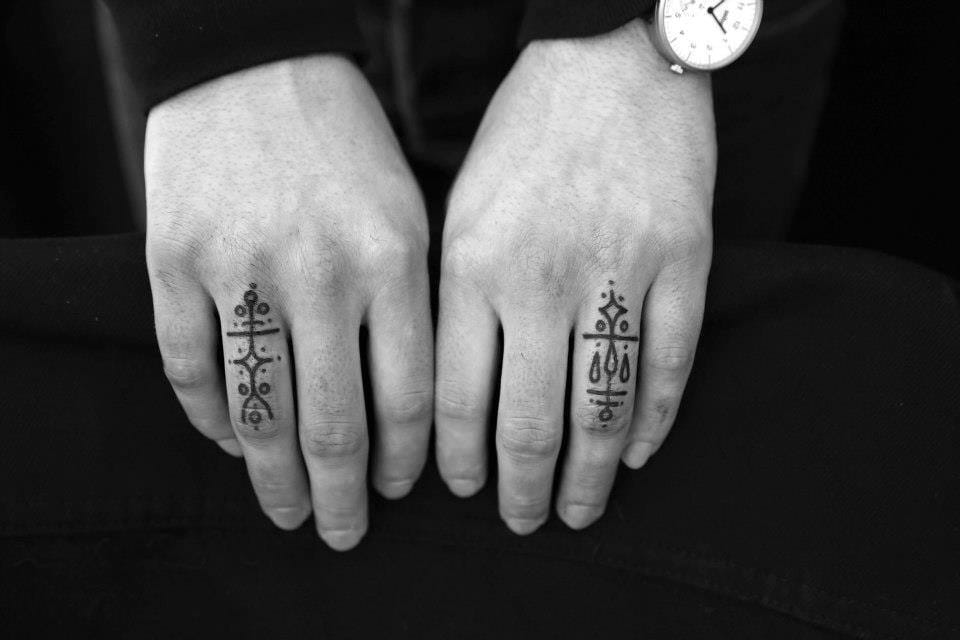 There are the symbols which are meaningful, and sometimes the secret meaning is just understood by you two. Via Jean-Philippe Burton.
