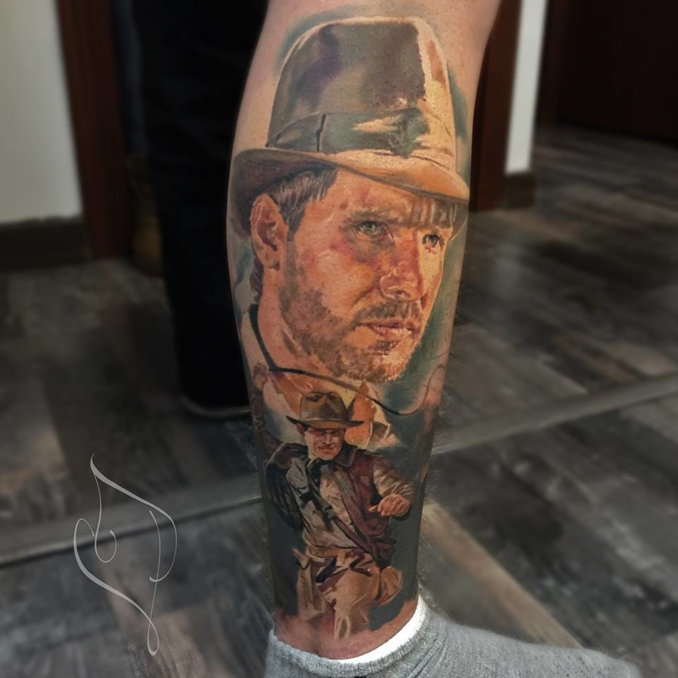 Cool Indiana Jones piece!