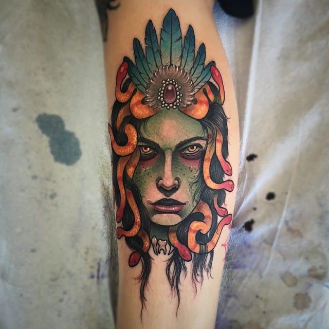 Medusa by Jonathan Penchoff aka Earthgrasper