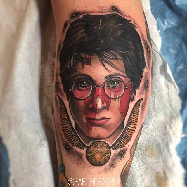 27 Spectacular Harry Potter Tattoos By Earthgrasper