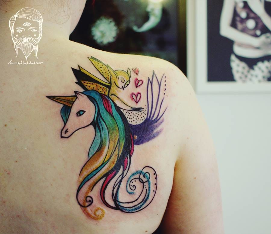 Sweet unicorn.