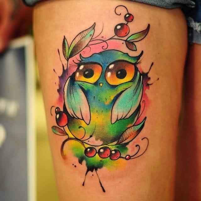 Unique owl!