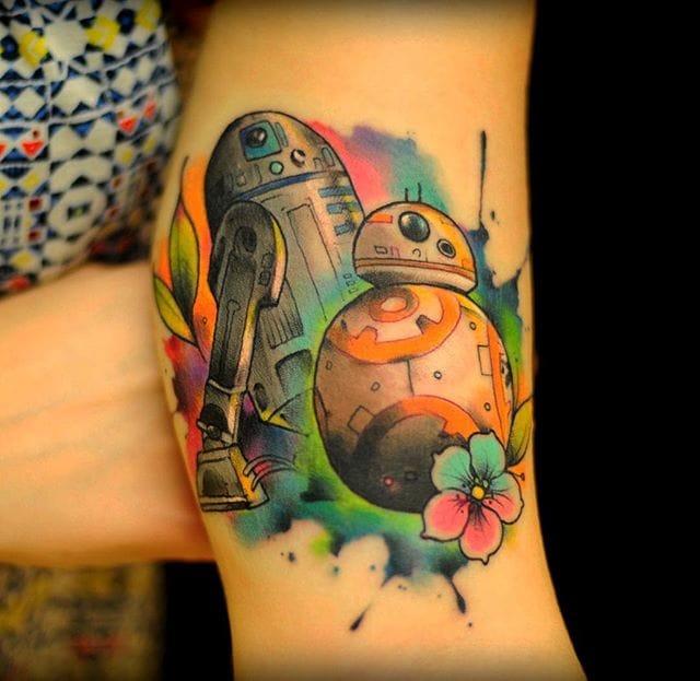 Star Wars droids.