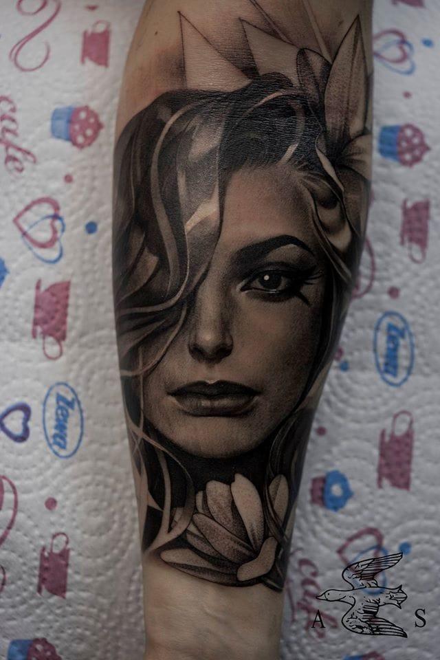 Exquisite tattoo