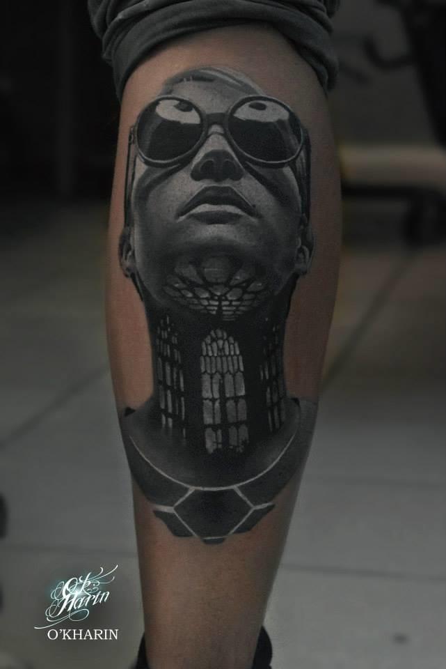 Terrific, abstract tattoo