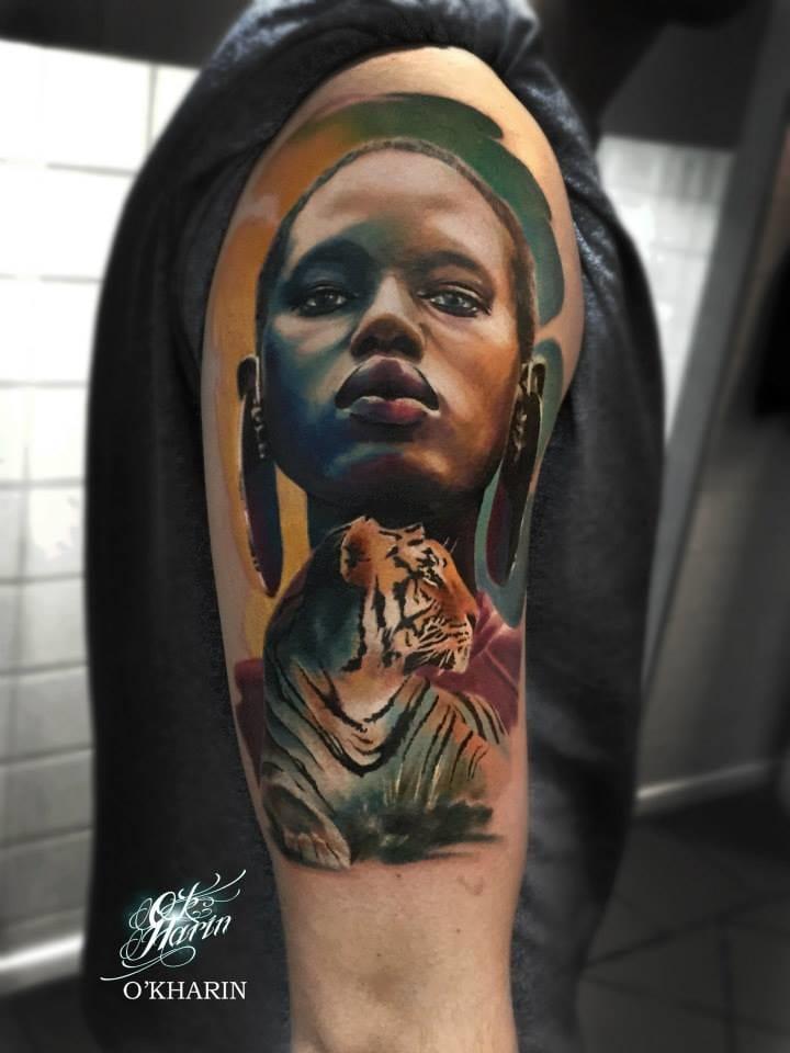 Wonderful Africa tattoo.