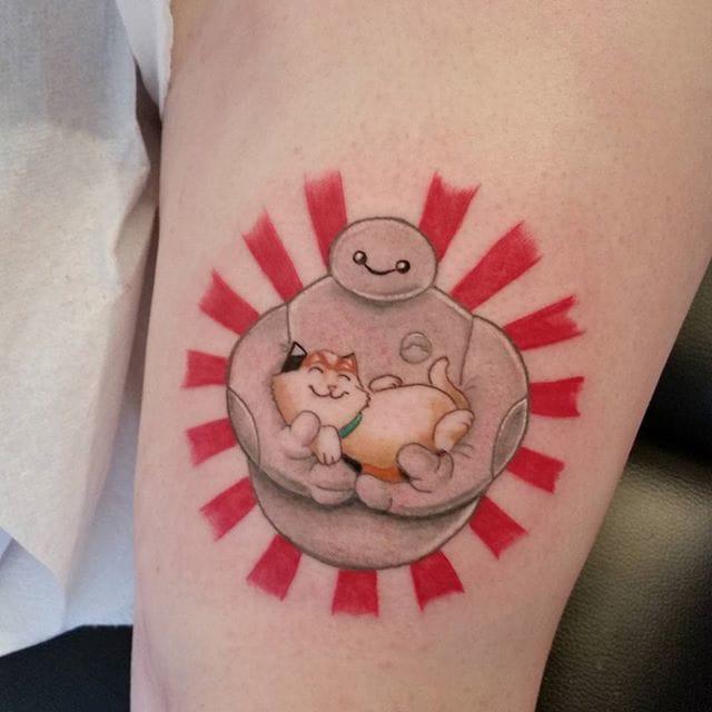 #darrenmillar #baymax #tattoo