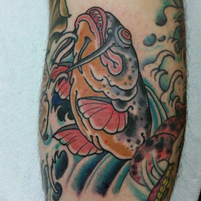 Catfish Tattoo by Shane Nicholetti