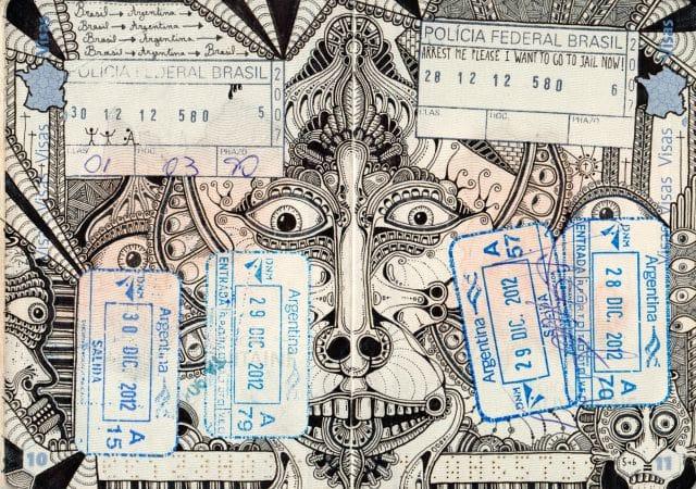 Tattooed Passport