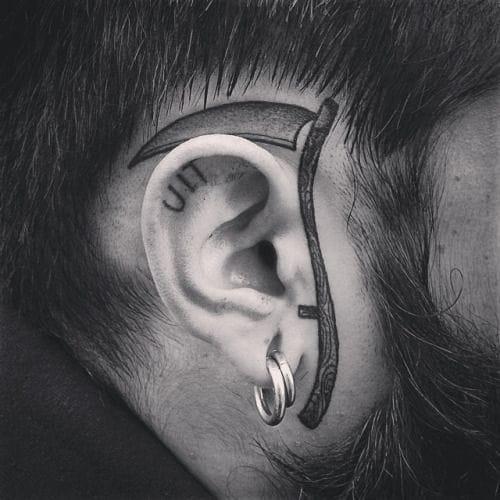 The classic ear scythe by MXW.