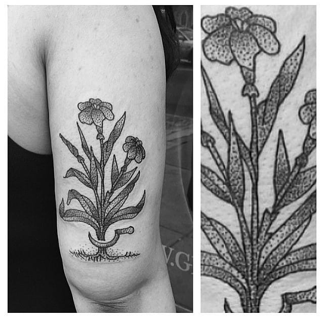 Gardener's tattoo? By Gristle.