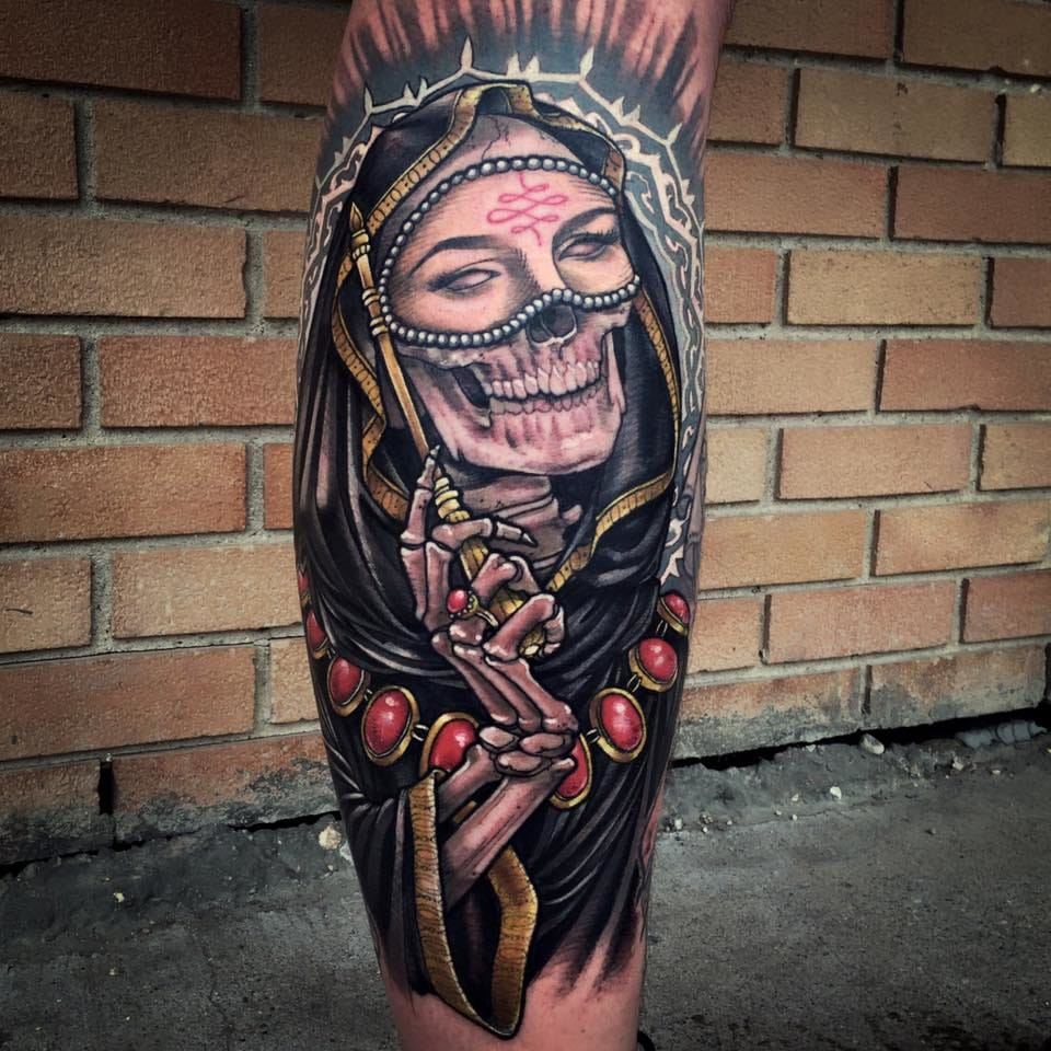 Awe-Inspiring Neo Traditional Tattoos By Sam Smith