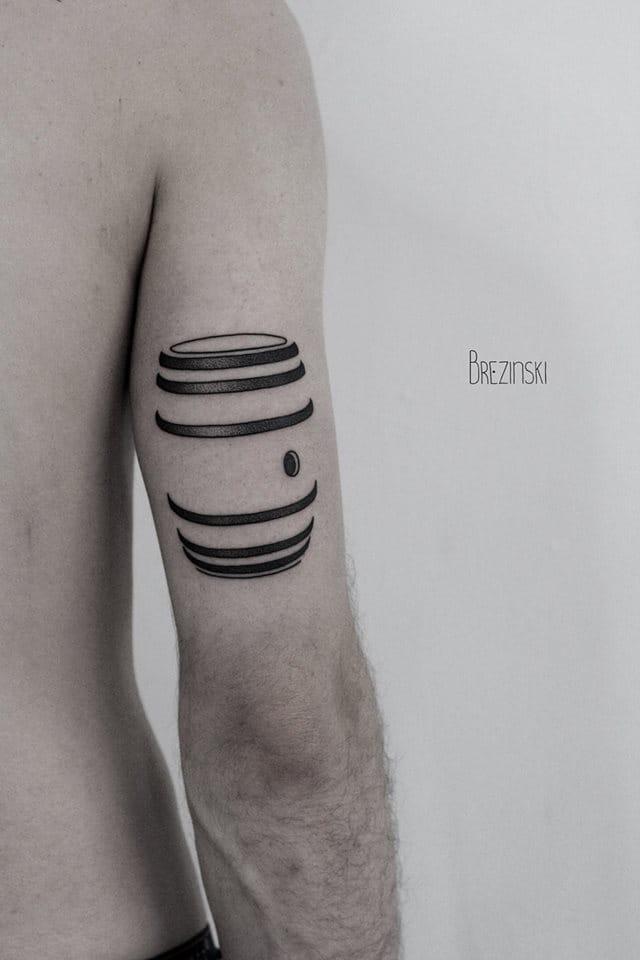 For the minimalism's lovers... By Ilya Brezinski.