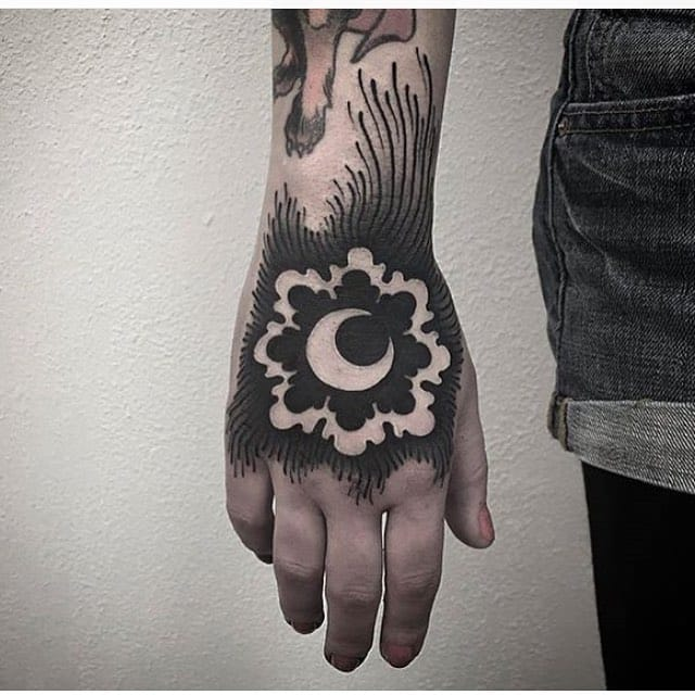 For bold hand tattoos. By Laura Yahna.