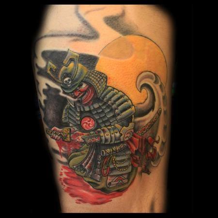 Seppuku Tattoo by Canyon Webb