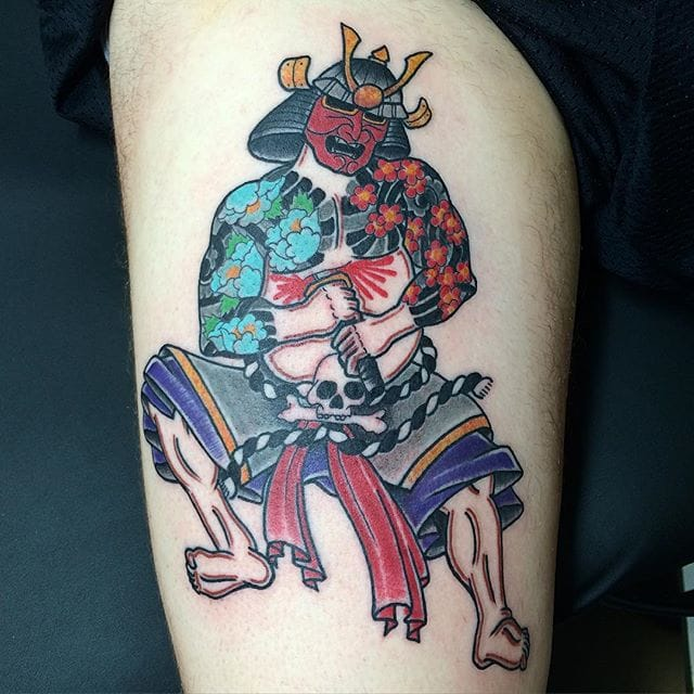 Seppuku Tattoo by Mike Reed
