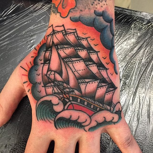 12 Resolute Ship Tattoos by Zooki