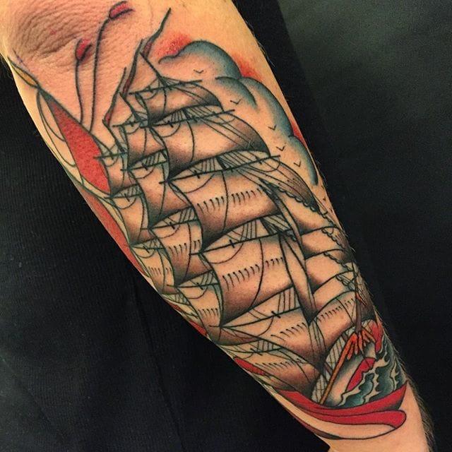 Beautiful tattoo by Zooki