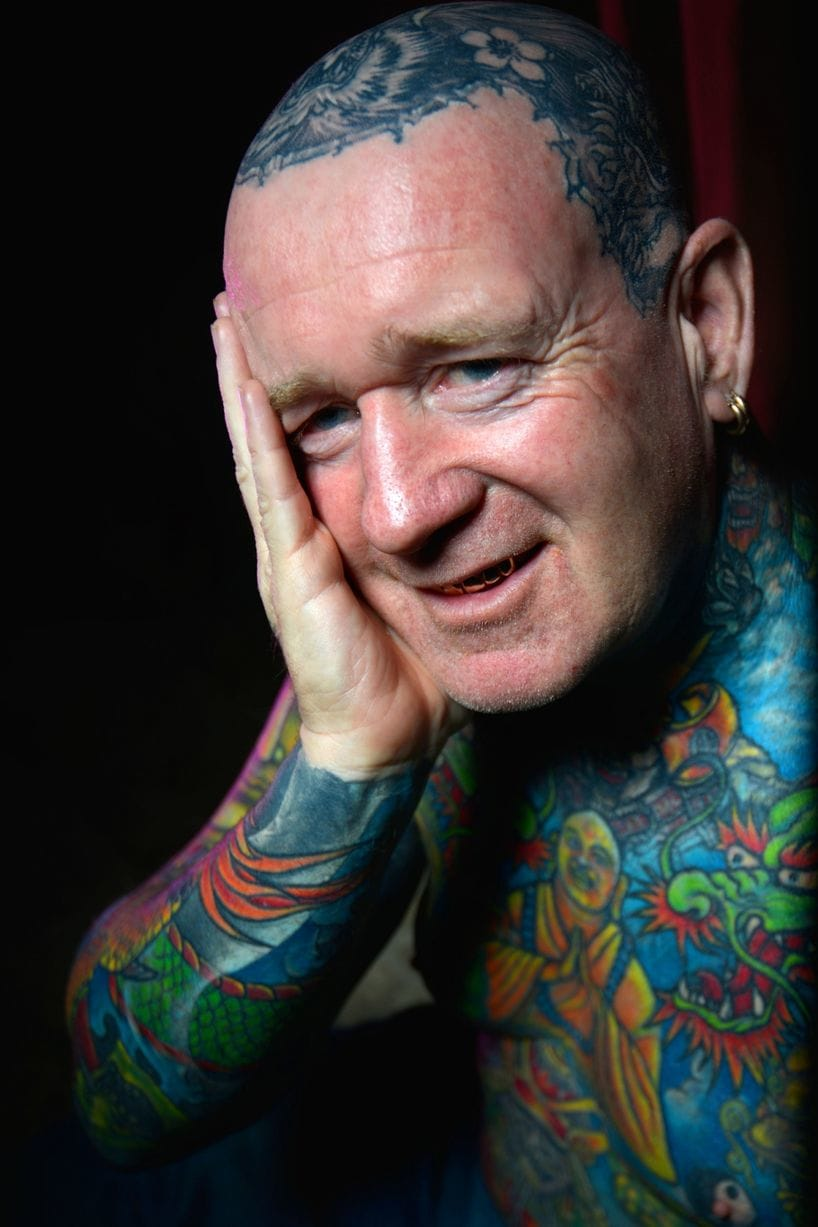Tony Barton Has Tattooed Almost His Entire Body 4 Times Over!