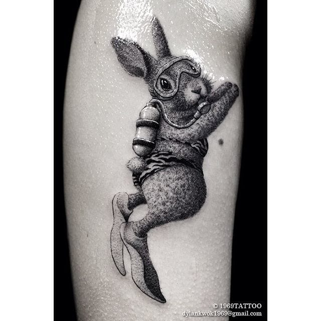 Charming Surrealistic Tattoos By Dylan Kwok