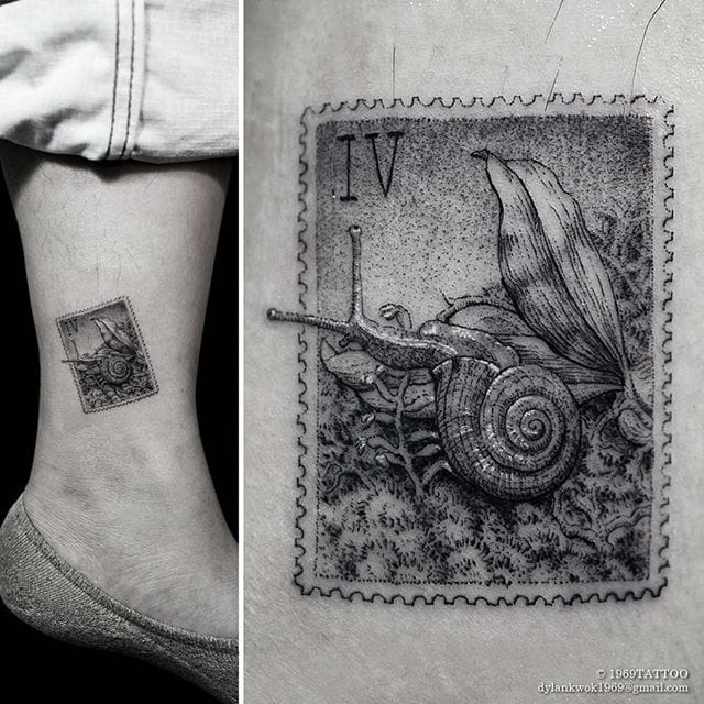 Incredible miniature stamp!