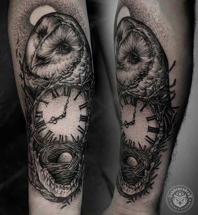 Another lovely owl #DanielBaczewski