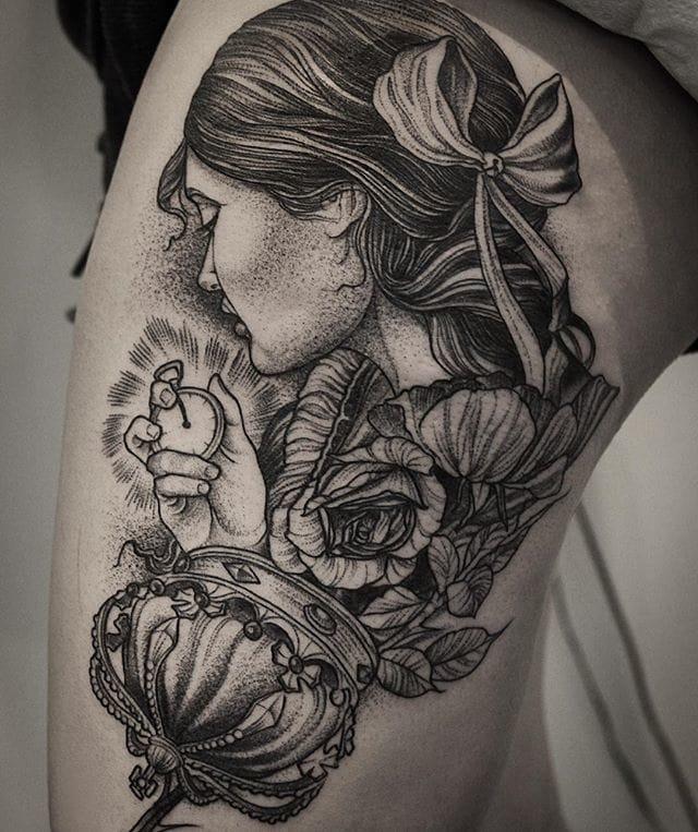 Superb tattoo #DanielBaczewski