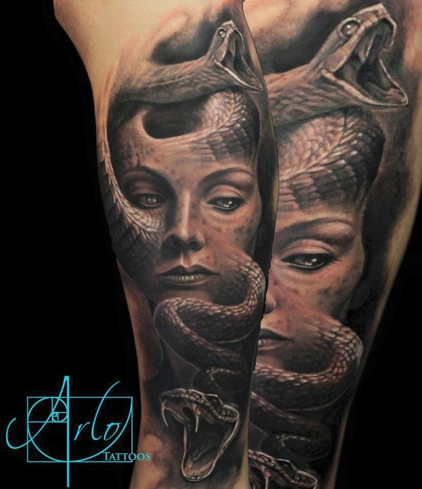 Snake morph #ArloDiCristina