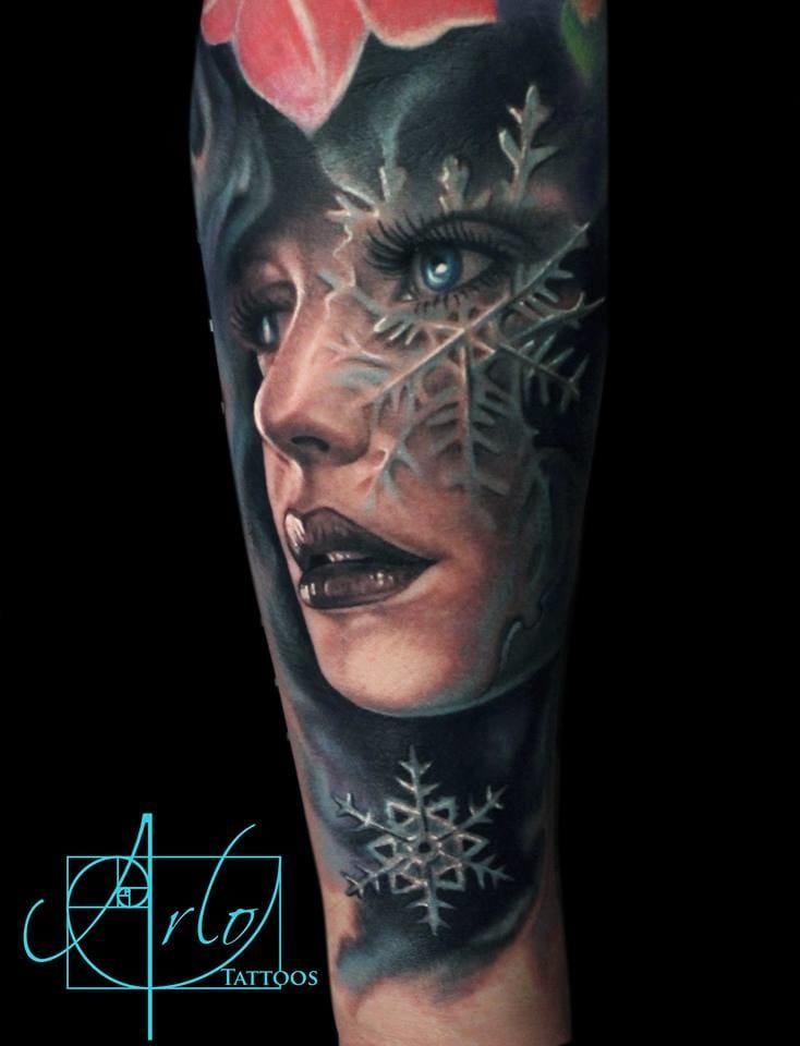 Snowflake morph #ArloDiCristina