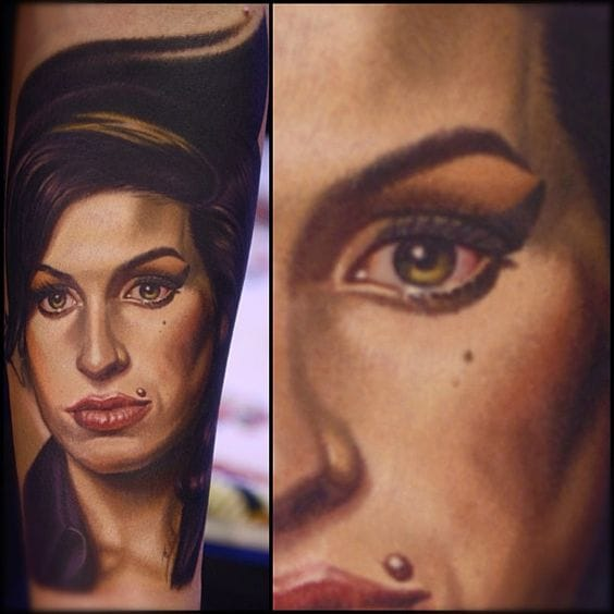 15 groovy amy winehouse tattoos tattoodo urmus Image collections