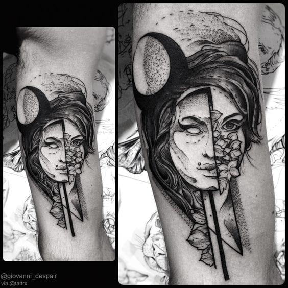 Amy Winehouse Tribute Tattoos