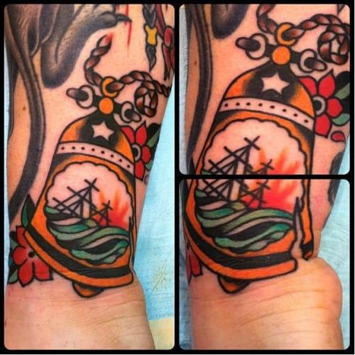 Bell Tattoo by Craig Chazen