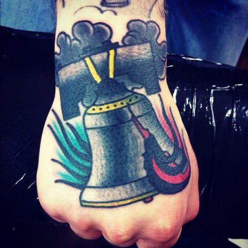 Bell Tattoo by Jakub Settgast
