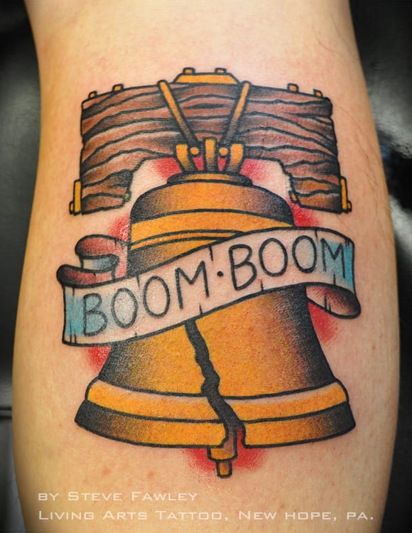 Bell Tattoo by Steve Fawley