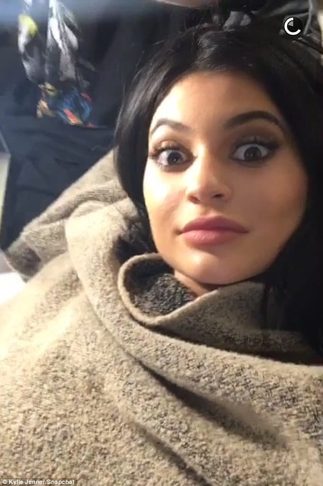 Kylie Jenner Grimaces As She Goes Back Under The Needle!