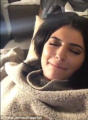 Kylie Gave A Little Grimace In The Short Clip