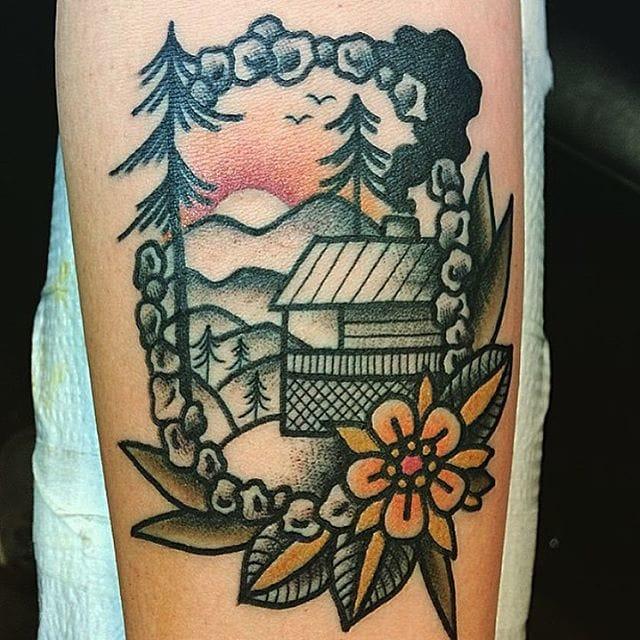 Scenery tattoo #KevinRay