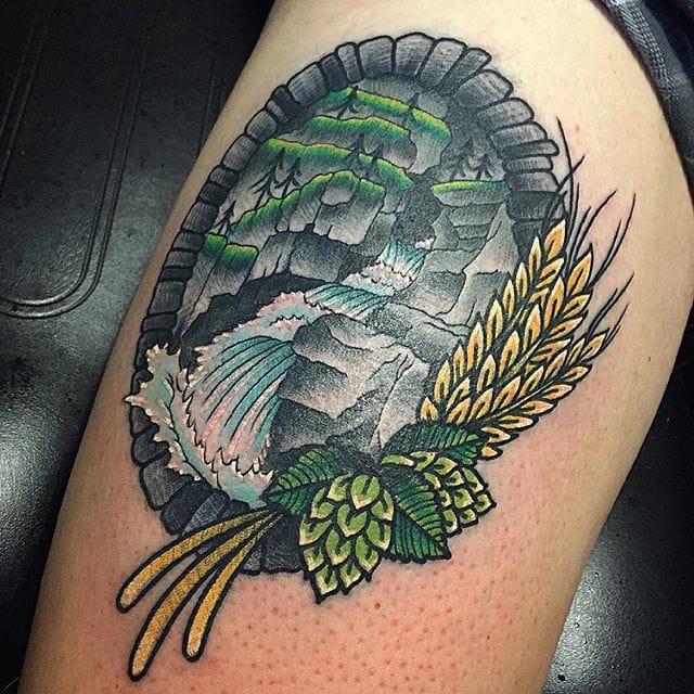 Falls tattoo #KevinRay