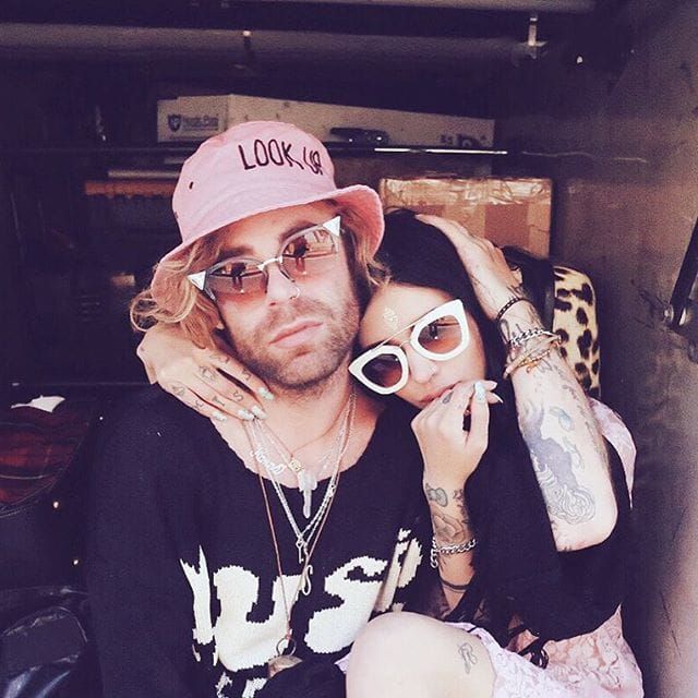 via Instagram (@barbiebeth @modsun)  #relationshipgoals #tattooedcouple