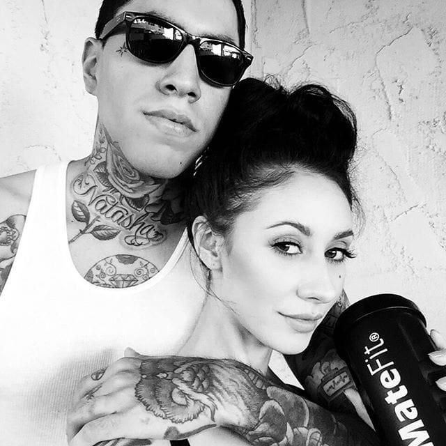 via Instagram (@lillipore) (@javierdeluna)  #relationshipgoals #tattooedcouple
