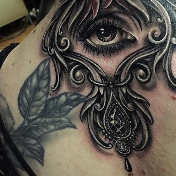 Solid Black And Grey Tattoos By Ryan Ashley Malarkey